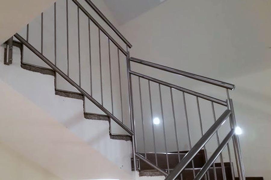stiege treppe geländer